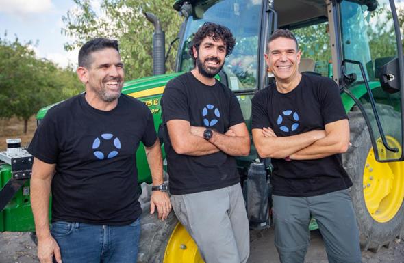 Aviram Shmueli, Yair Shahar, and Ben Alfi. Photo: Nir Hadar/BWR