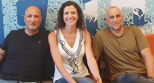 Beach Bum co-founders Gil Levi (right), Keren Marom and Shachar Schalka. Photo: Beach Bum