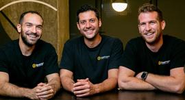 The BeeHero co-founders. Photo: BeeHero
