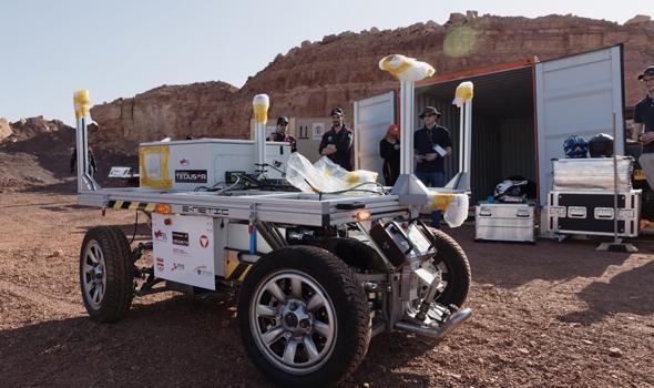 Einige der Geräte, die in die Kuppel gebracht werden.  Foto: Florian Voggeneder / ÖWF