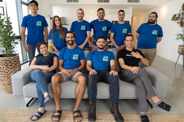 The JOKR team in Israel. Photo: N/A