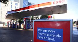 מחסור דלק משאבת דלק בריטניה, צילום: רויטרס