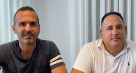 Udi Yadin (right) and Amir Geva. Photo: LetsTok