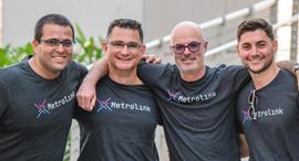 Metrolink co-founders. Photo: Itzik Hanukah