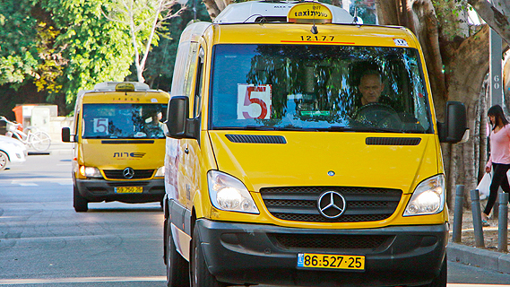 מונית שירות, צילום: דנה קופל