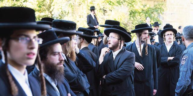 חרדים בירושלים, צילום: אוהד צויגנברג