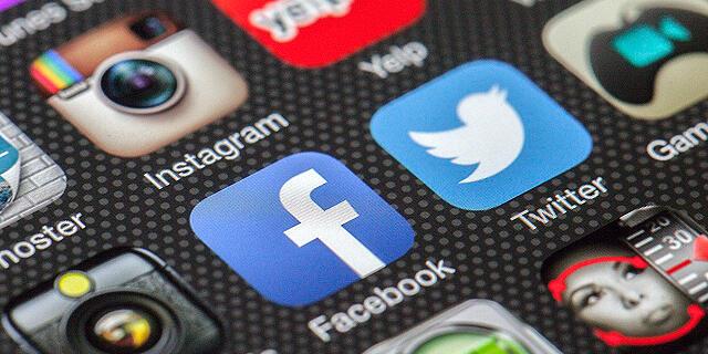 פייסבוק טוויטר , צילום: Pixabay