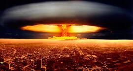 פיצוץ גרעיני פצצת אטום פצצה גרעינית