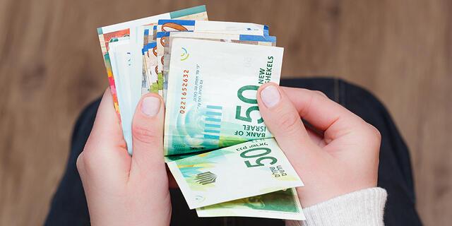 שכר כסף שטרות שקל שקלים תשלום משכורת השקעה