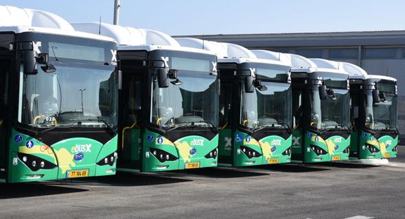 אוטובוסים חשמליים חיפה אגד