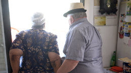 קשישים, צילום: חיים הורנשטיין