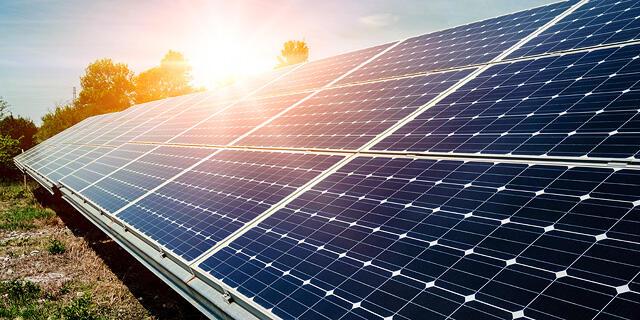 פאנל סולארי אנרגיה מתחדשת