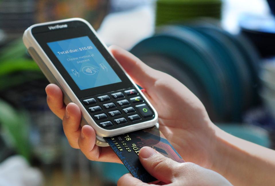 וריפון מכשיר לתשלום ב כרטיס אשראי