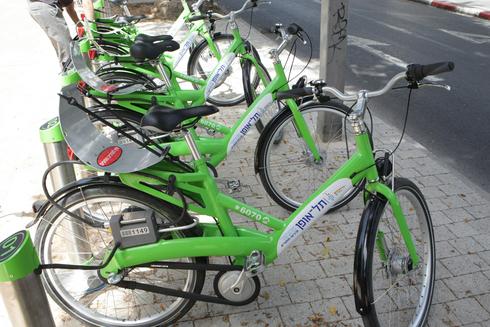 אופניים של תל אופן , צילום: צביקה טישלר