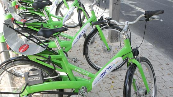 אופניים תל אופן , צילום: צביקה טישלר