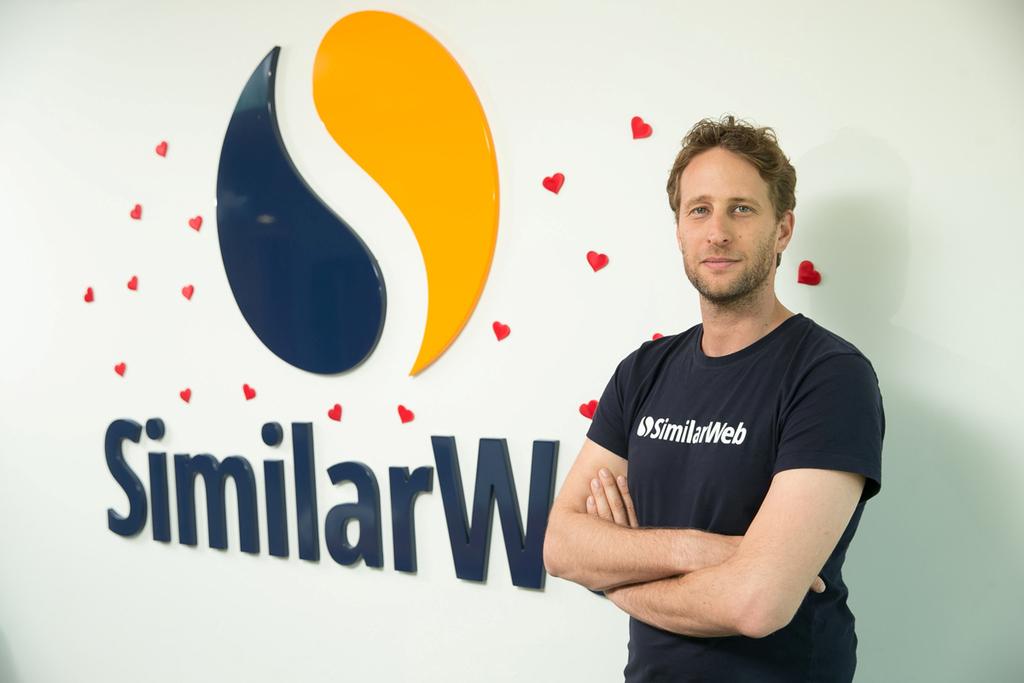 """מוסף 50 הסטארטאפים המבטיחים מנכ""""ל ומייסד סימילרווב SIMILARWEB אור עופר"""