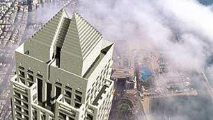 """פתאל תקים 4,000 מ""""ר משרדים במגדל סיטי טאואר ברמת גן"""