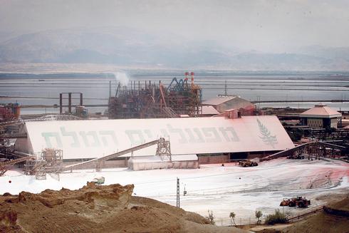 מפעלי ים המלח של איי.סי.אל , צילום: עמית שעל