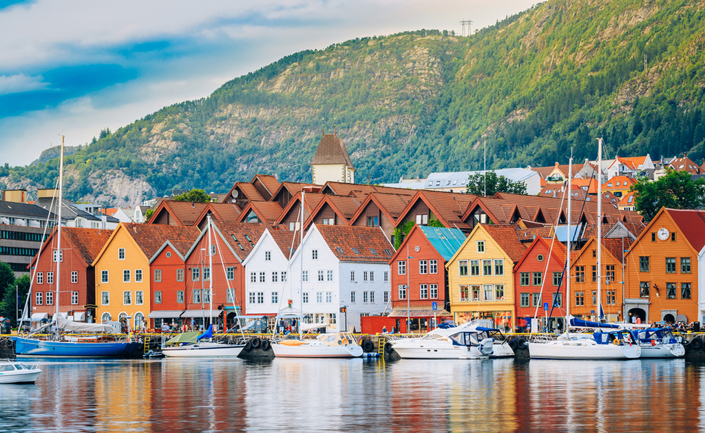 פוטו אתרים לא נחשבים בעולם ברגן נורווגיה