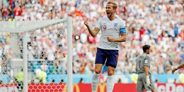 קיין במדי אנגליה במונדיאל האחרון ב-2018, צילום: רויטרס