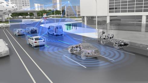 טכנולוגיית ADAS של ZF ו-מובילאיי , צילום: יחצ