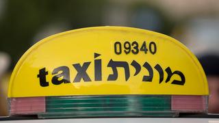מונית מוניות טקסי תעריף תחבורה ציבורית, צילום: שאטרסטוק