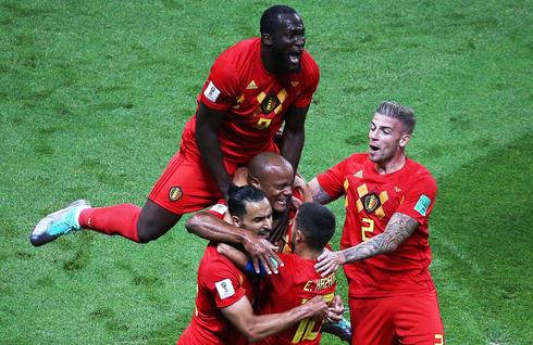 שחקני נבחרת בלגיה. צמחו לתוך מנטליות אחרת, צילום: אם סי טי