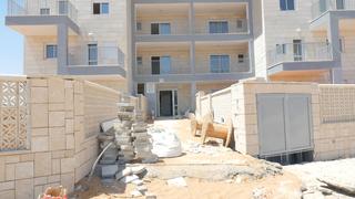 בנייה בלוד (ארכיון), צילום: דור מנואל
