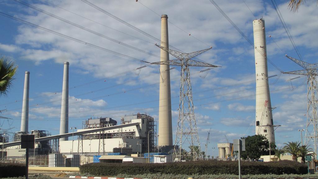 איגוד ערים שרון כרמל: חברת חשמל מפיקה לאחרונה יותר חשמל מפחם מאשר מגז