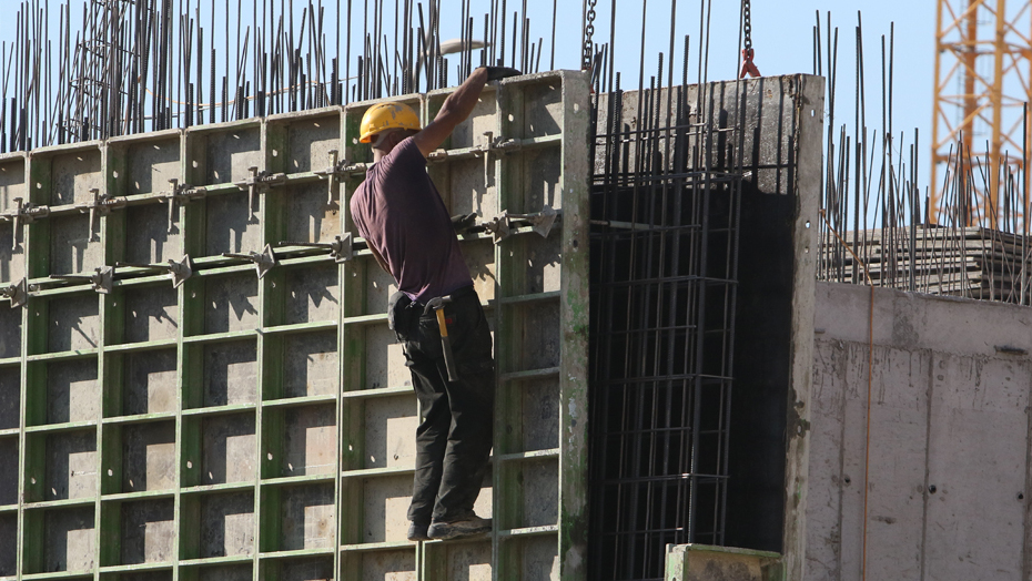 ענף מושבת: הפועלים הפלסטינים לא הגיעו לעבודה בבניין