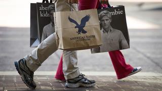 שקית קניות בגדים אמריקן איגל אברקרומבי