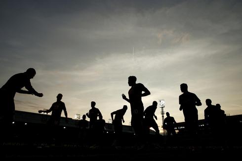 אימון כדורגל, צילום: רויטרס,