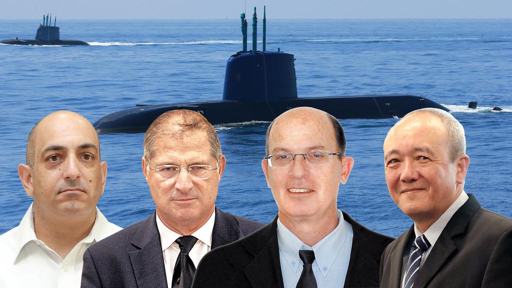 """פרשת הצוללות: הוגשו כתבי אישום נגד בר יוסף, שרן וגנור, נסגר התיק נגד עו""""ד שמרון ומרום"""