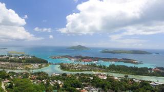 איי סיישל מבט מהאוויר