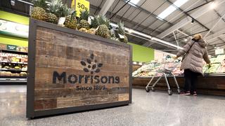 חנות מרכול מוריסונס וויליאם מוריסון סופרמרקט לונדון, צילום: בלומברג