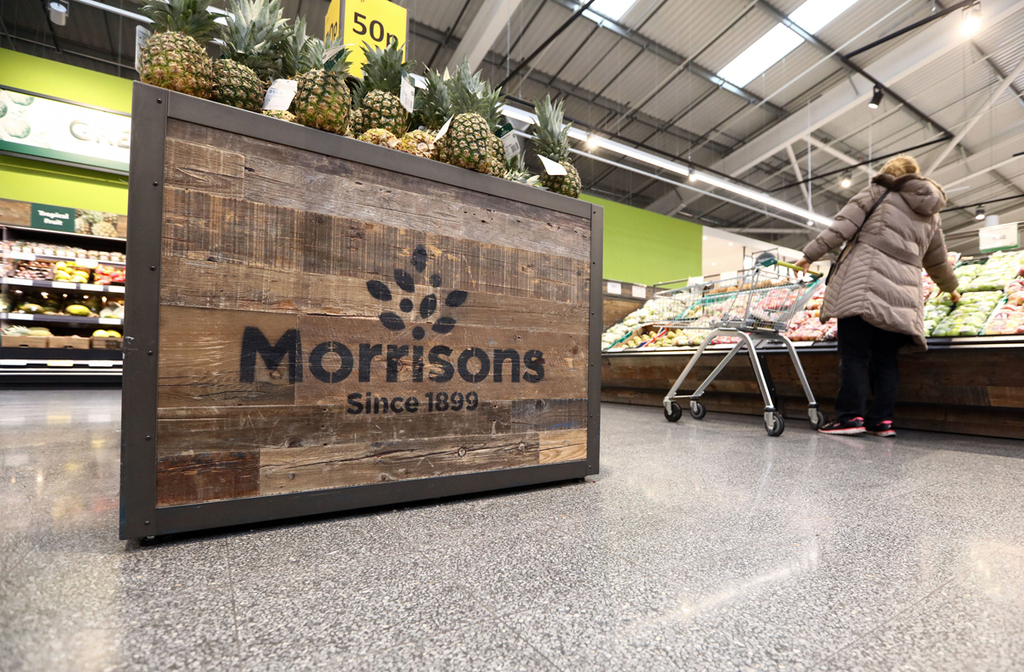 חנות מרכול מוריסונס וויליאם מוריסון סופרמרקט לונדון