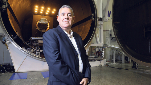 """בועז לוי מנכ""""ל התעשייה האווירית , צילום: אביגיל עוזי"""