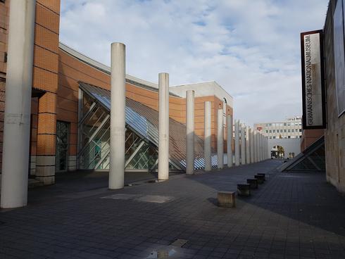 נתיב זכויות האדם בנירנברג , צילום: דוד הכהן