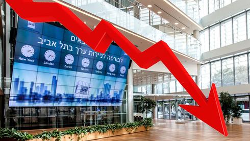 """נעילה אדומה בבורסה: ת""""א 35 מחק 2.7%, מדד הנפט וגז נפל ב-5.7%"""