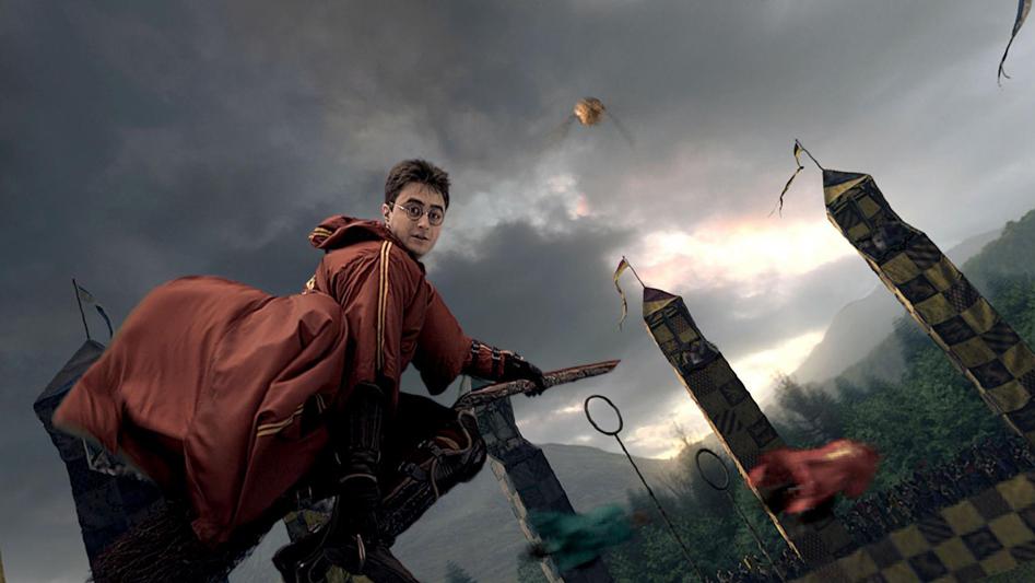 הארי פוטר משחק קווידיץ harry potter quidditch