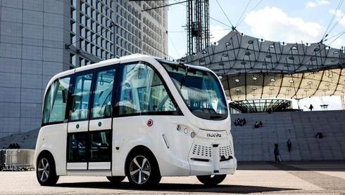 יצרנית השאטלים האוטונומיים NAVIA תשמש בפלטפורמה של REE הישראלית