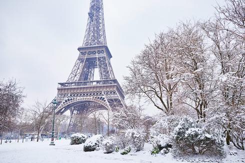 חורף בפריז, צילום: שאטרסטוק