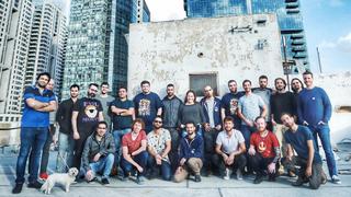 StreamElements team. Photo: Kobi Bachar