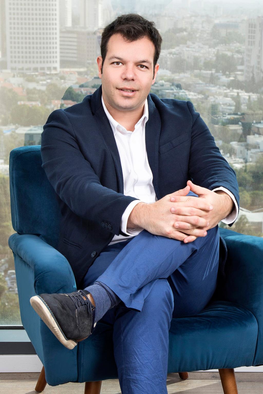 תום ליבנה מנכל ומייסד שותף של חברת VERBIT