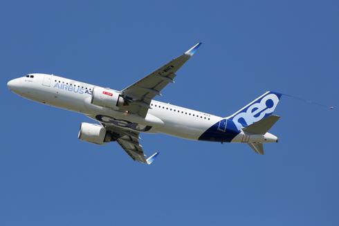מטוס מדגם איירבוס A320, צילום: שאטרסטוק