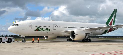 מטוס אליטליה, צילום: איי אף פי