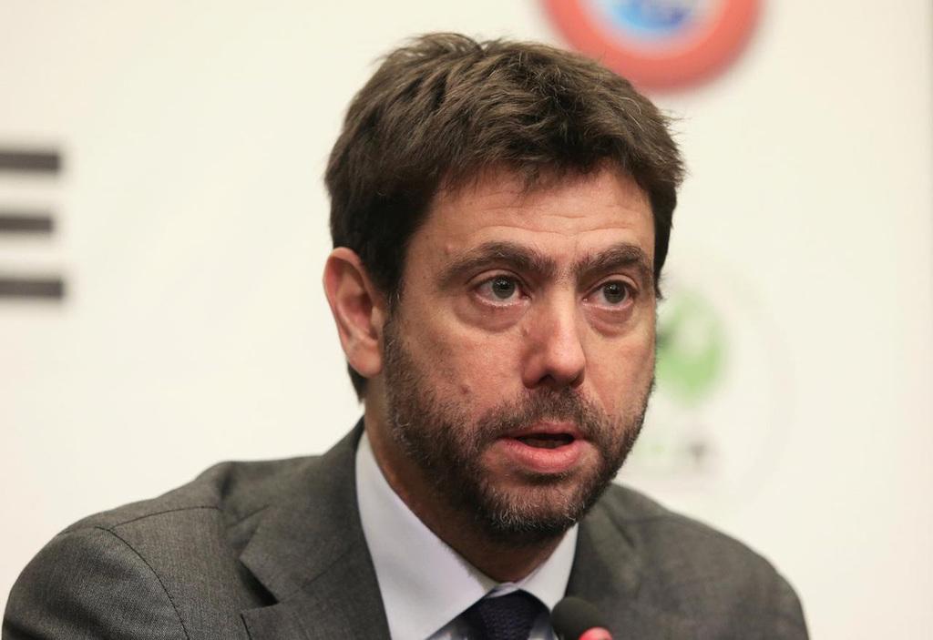 אנדראה אניילי נשיא ה-ECA ארגון המועדונים האירופאי ונשיא יובנטוס