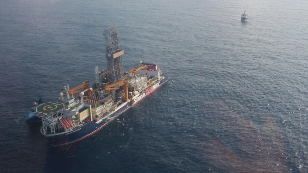 אסדת קידוח אנרג'יאן מאגר גז כריש 2