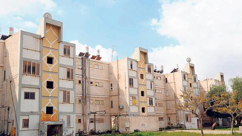בניינים בבאר שבע. העלייה הגדולה ביותר - במחוז הדרום, צילום: ישראל יוסף