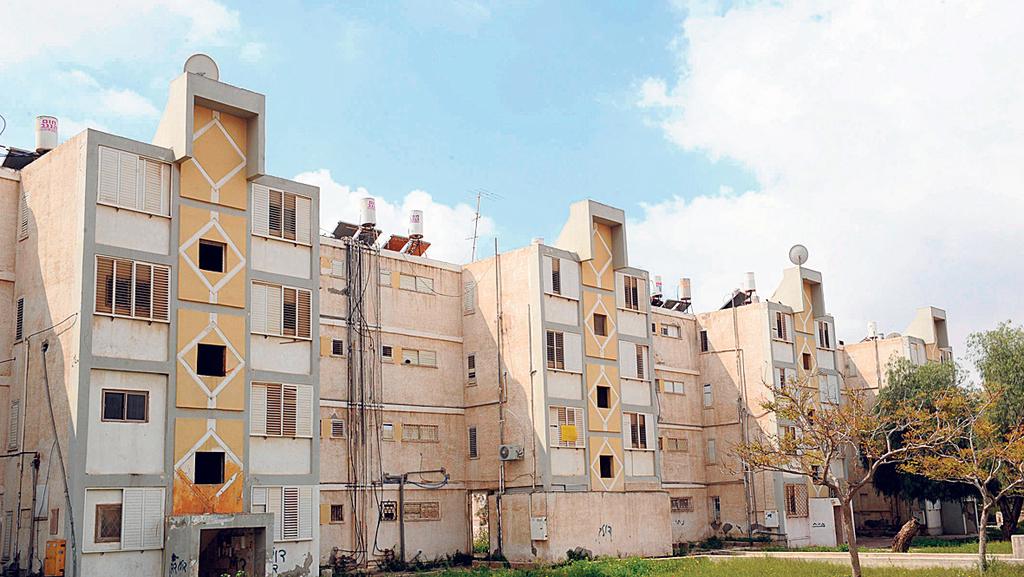 בניינים רחוב וינגייט 21 ב באר שבע